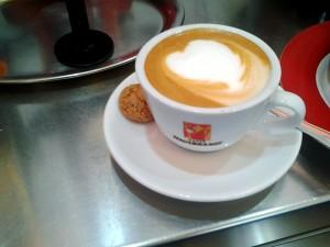 Cappuccino in Regensburg