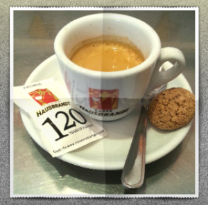Espresso Hausbrandt in Regensburg